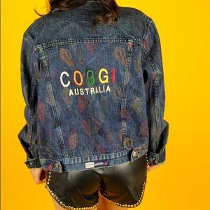 Vintage COOGI Australia denim jacket